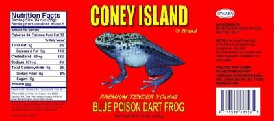 Takeshi Yamada - Blue Poison Dart Frog