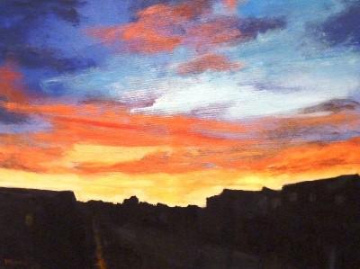 Alwais, Herb, Summer Sunset 18 x 24 Acrylic b